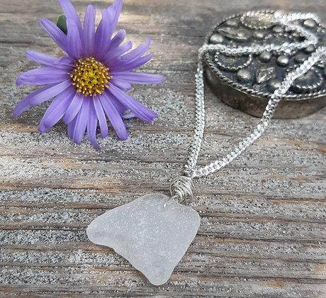 treasures - sea glass pendant