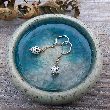 lola & roses - chain drop earrings
