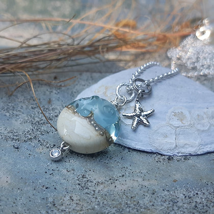 by the sea - small pendant