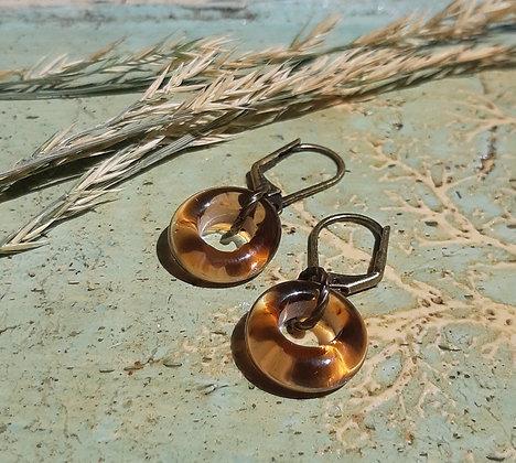 city boho - sweet for summer earrings - iced tea