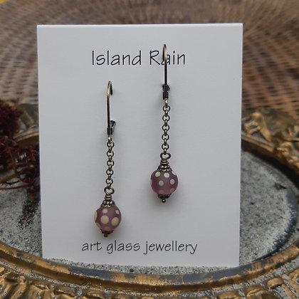 faded and beautiful - earrings