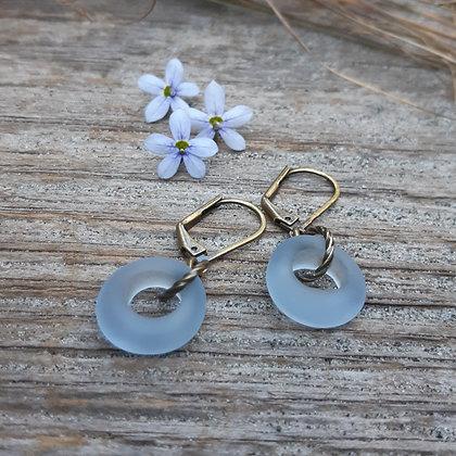 city boho - sweet for summer earrings -blueberry pie