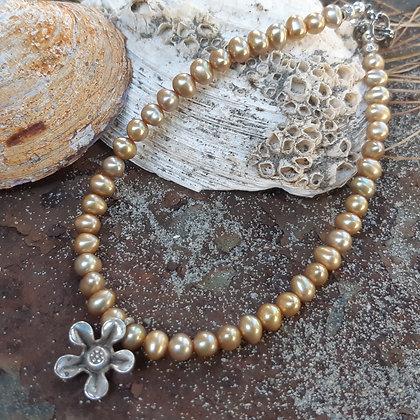 anklet - poet's cove - flower