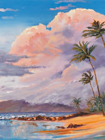 Ulua Beach Sunset