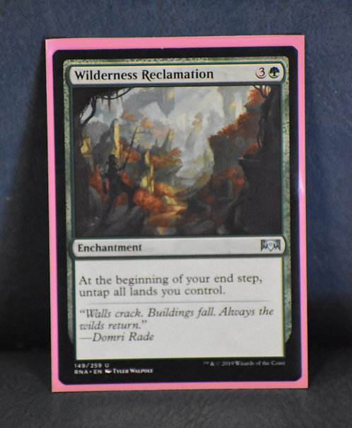 Wilderness Reclaimation