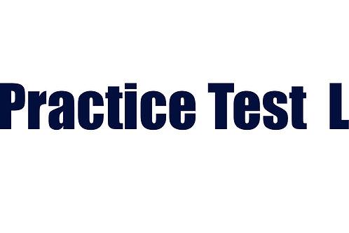 Practice Test L