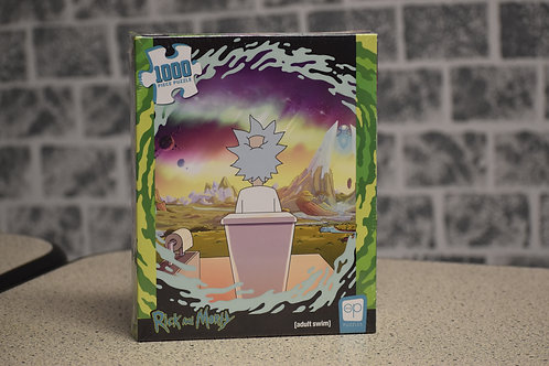 Rick & Morty Puzzle - 1000pc Hot Tub