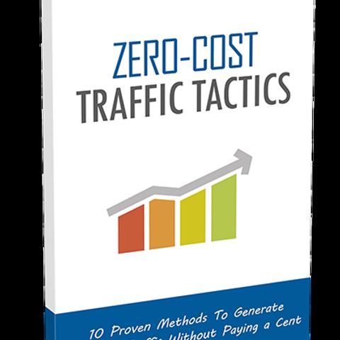 Zero Cost Traffic Tactics eBook with Bonus Tools