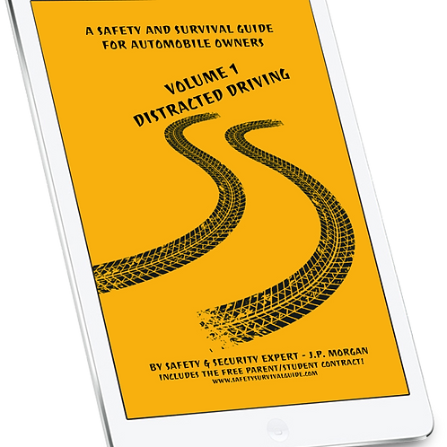 A Safety & Survival Guide for Auto Owners Vol 1 Distracted Driving eBook