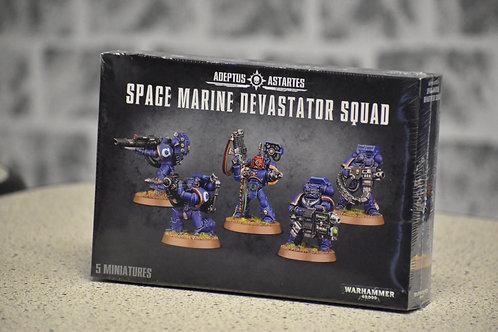 Adeptus Astartes Space Marine Devastator Squad