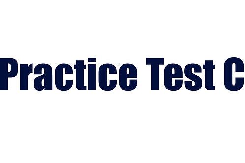 Practice Test C
