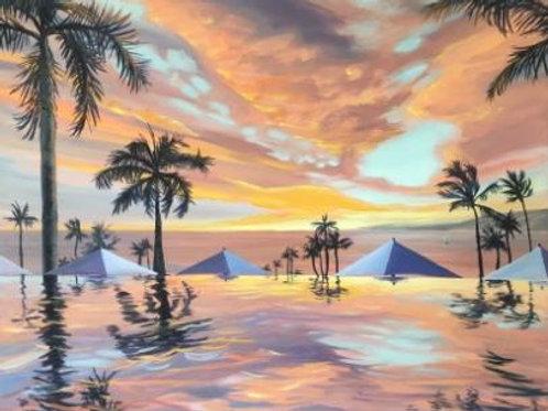Infinity Sunset Maui