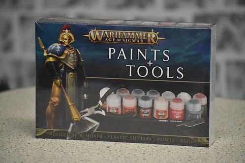 Warhammer Age of Sigmar Paint & Tools Set