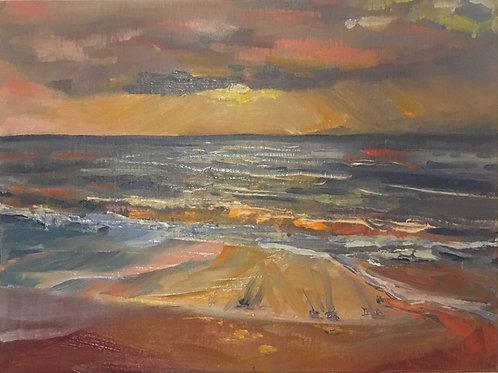 Waipuilani Beach Sunset
