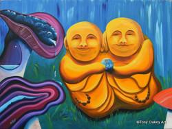 Praise be to Buddha buddy