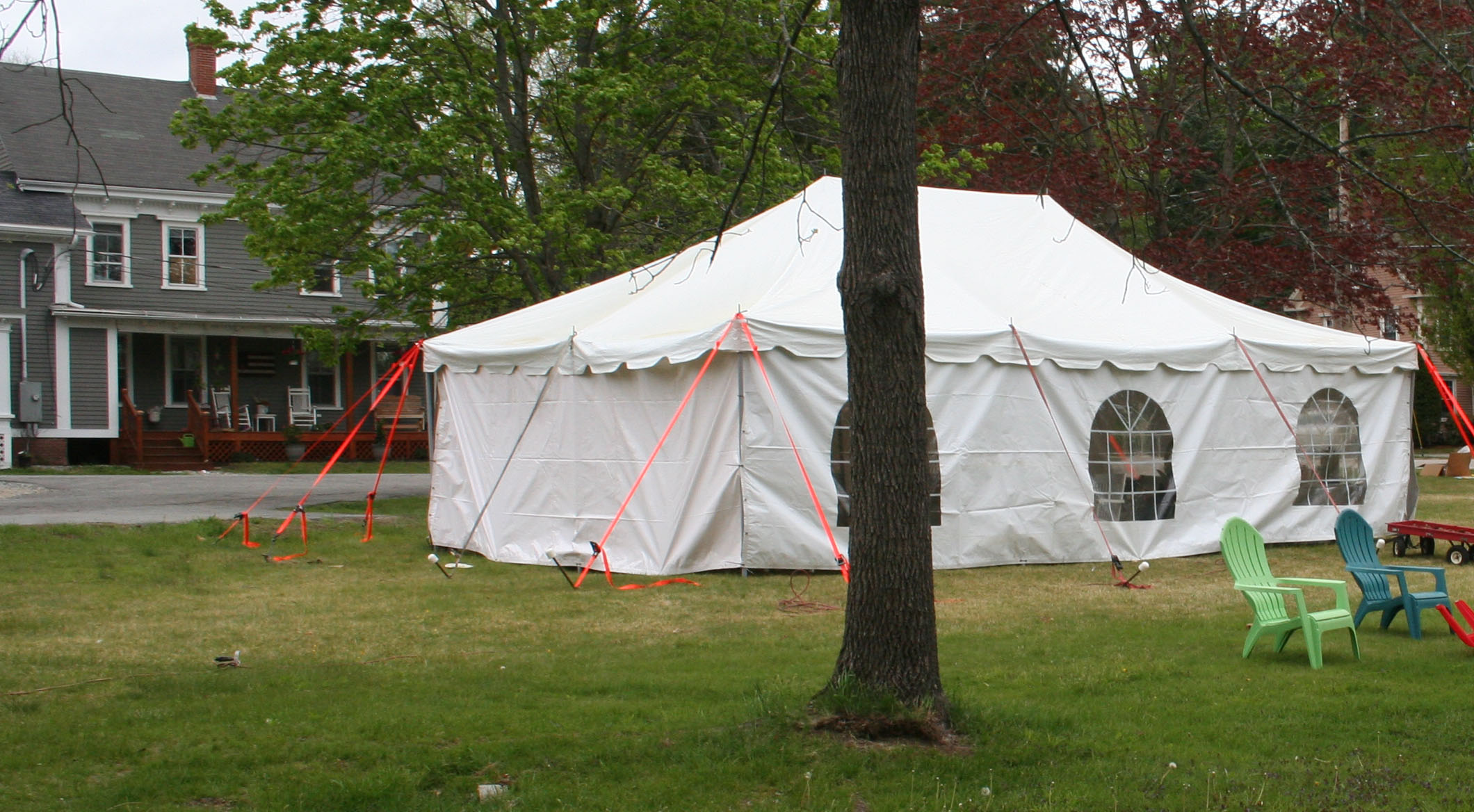 The Gospel Tent may 15,2016