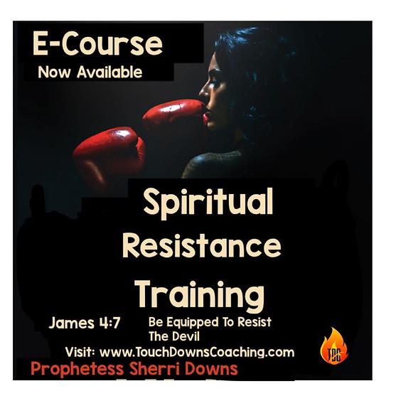 Spiritual Resistance Trainging E-Course