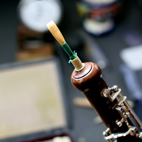 My Howarth cocobolo oboe
