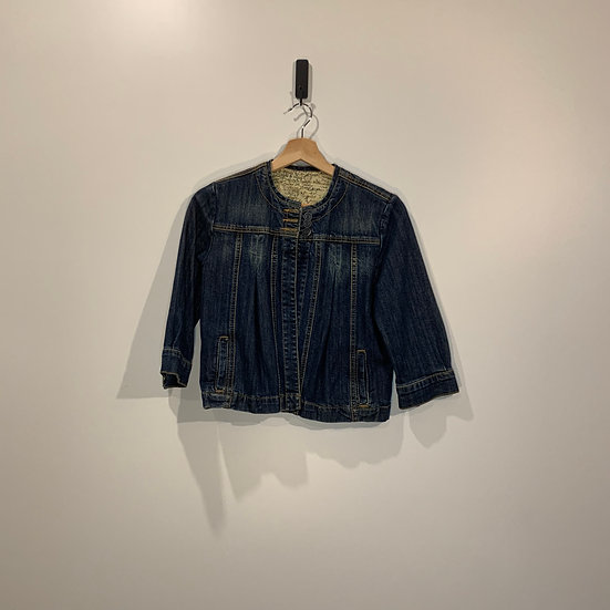 CHAQUETA JEANS CROPPED CANTAO