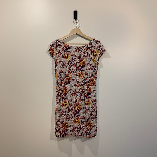 VESTIDO VISCOSE ESTAMPADO FLORES KHELF