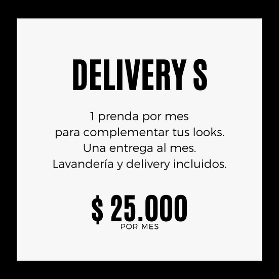 PLAN DELIVERY S