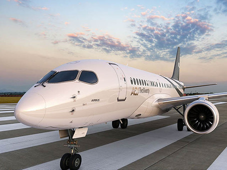 THE NEW AIRBUS PRIVATE JET :  ACJ220