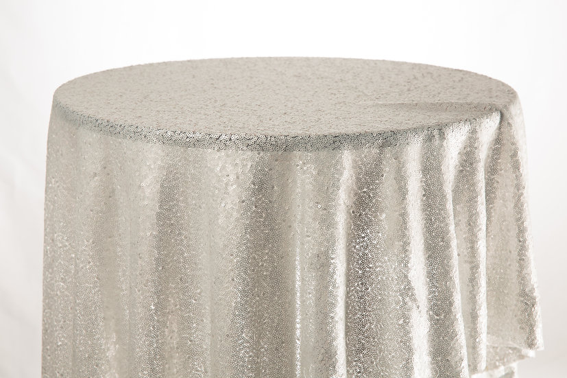 Sequin Cloth (Grey)