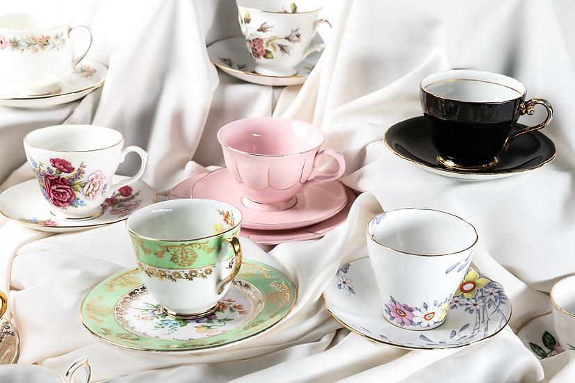 Tea cup & saucer sets