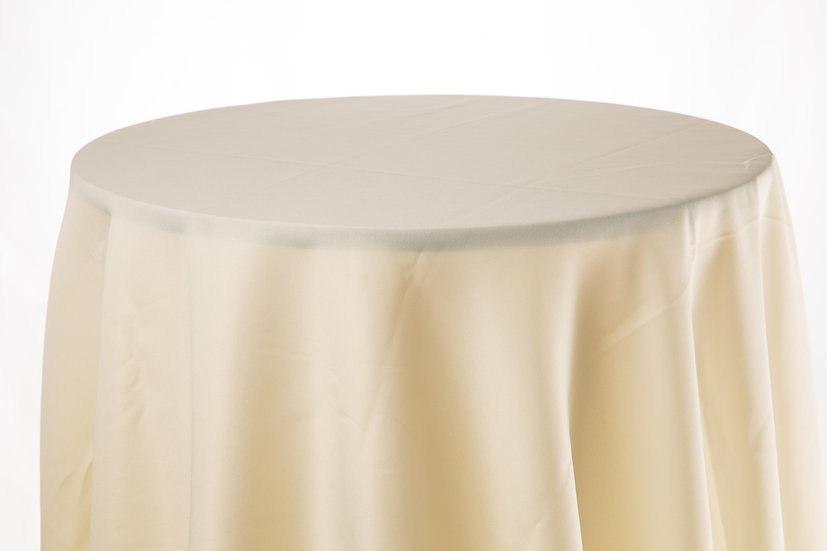 Cotton Table Cloth (Ivory)