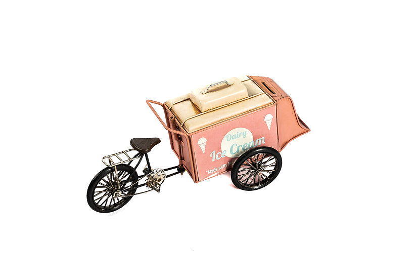 Vintage ice-cream cart