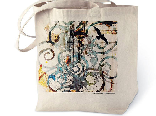 Controlled Chaos Cotton Tote Bag