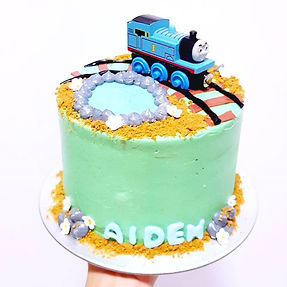 Train Theme Party Cake