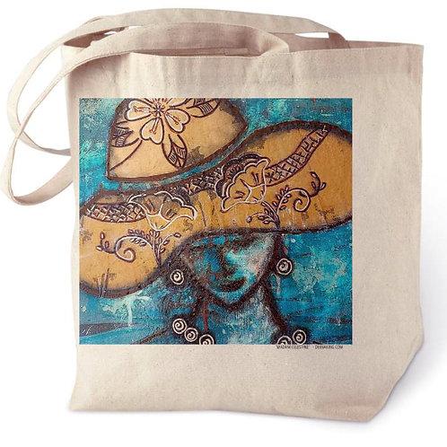 Madam Celestine Cotton Tote Bag
