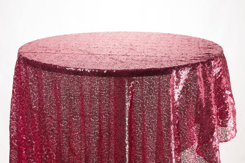 Sequin Cloth (Dark Pink)