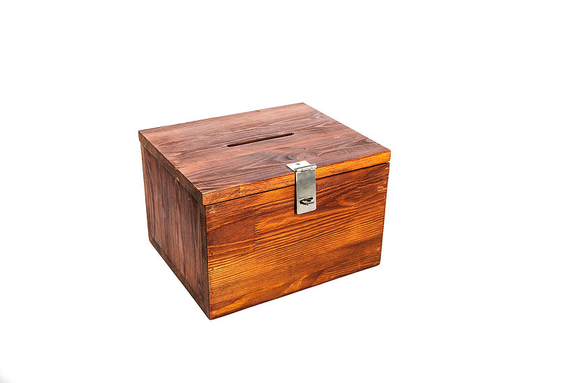 Wooden Drop Box