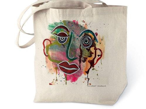 I'm In Confusion Cotton Tote Bag