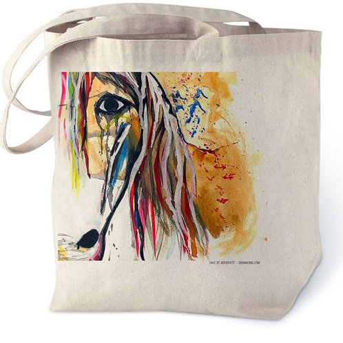 Face of Adversity Cotton Tote Bag