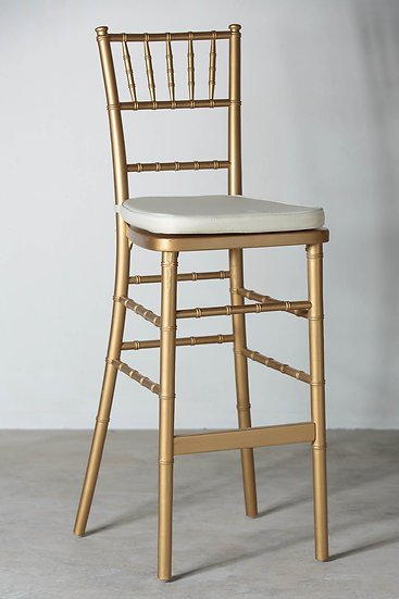 Tiffany Bar Chair (Gold)