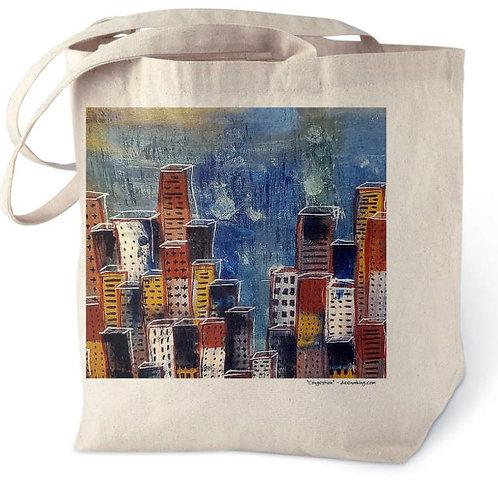 Congestion - Cotton Tote Bag