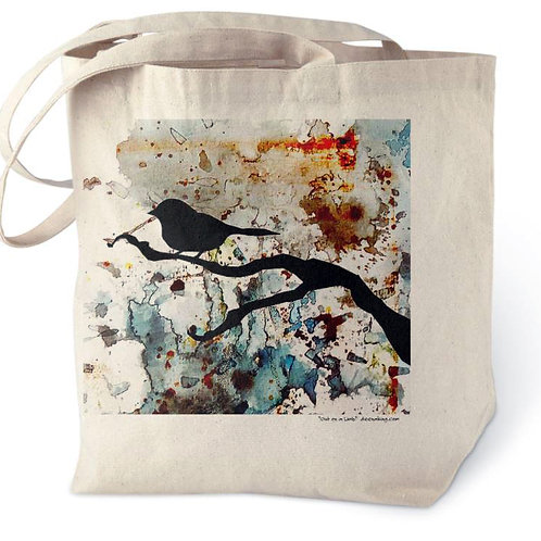 Out on a Limb Cotton Tote Bag