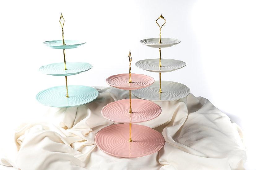 3-tier cupcake stands