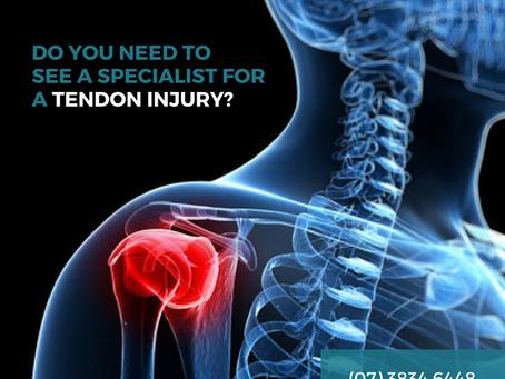 Tender Tendons - QLS can help