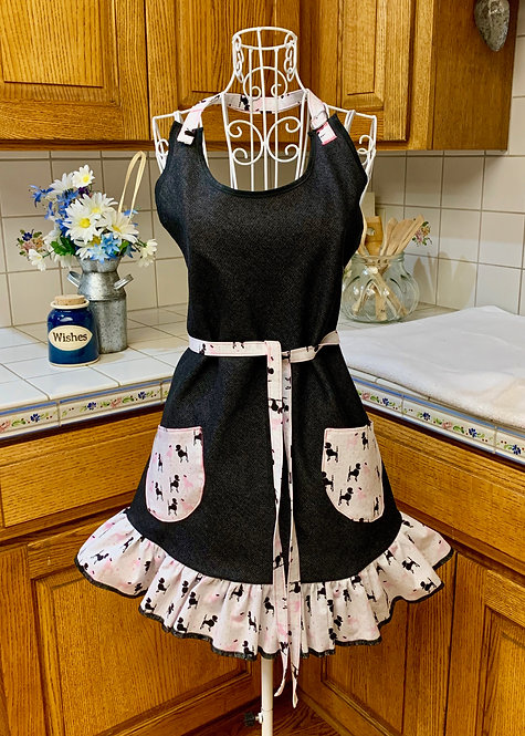 Sweetheart Apron  - We Love Poodles!