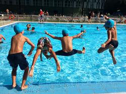 Txikiplanes | Saltos en la piscina