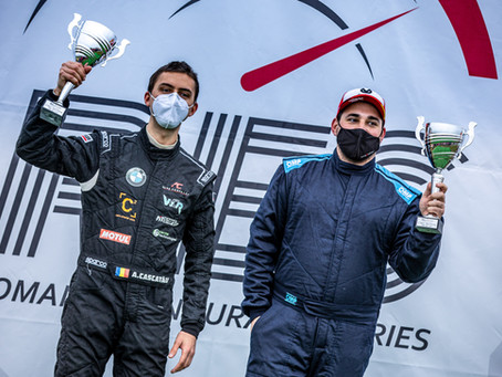 Alex Cascatău wins first ever Romanian Endurance Series Touring event for West Competition Racing
