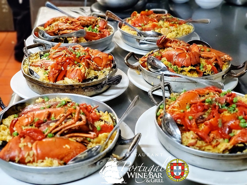 Portugal Wine Bar and Grill Paella Valenciana
