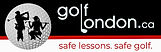 golflondon logo 3in safe lessons safe go