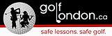 golflondon logo 3in safe lessons safe go