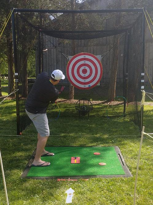 swing cage rental