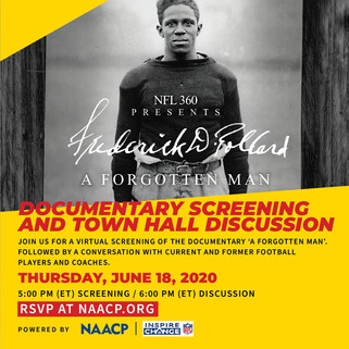 Sports and the Struggle for Justice:  A Virtual Town Hall Event